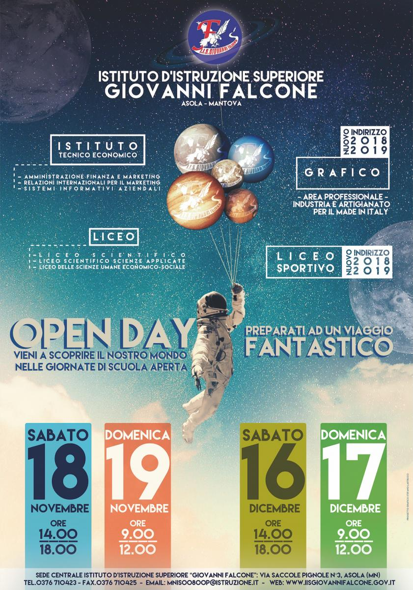 OPENday2017 2018 IIS G FALCONE ISTA